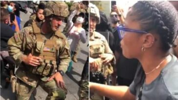 Actress Keke Palmer Asks National Guard Soldiers To 'March With Us' At George Floyd Protest [Video] 1