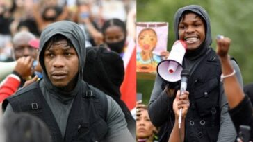 British-Nigerian Actor, John Boyega Delivers Powerful Speech At George Floyd Protest In London [Video] 2