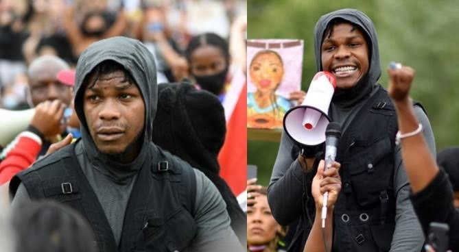 British-Nigerian Actor, John Boyega Delivers Powerful Speech At George Floyd Protest In London [Video] 1