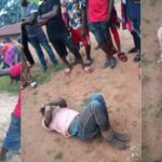 Man Beaten Mercilessly After Being Caught Defiling 6-Year-Old Girl Inside Church In Benue [Photos] 27