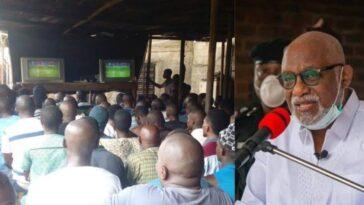 Governor Rotimi Akeredolu Bans Football Viewing Centres To Curb Coronavirus Spread In Ondo 5
