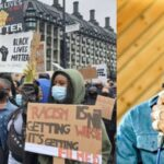 Protesters Dance To Burna Boy's Song During Black Lives Matter Protest In US, UK And Germany [Video] 27