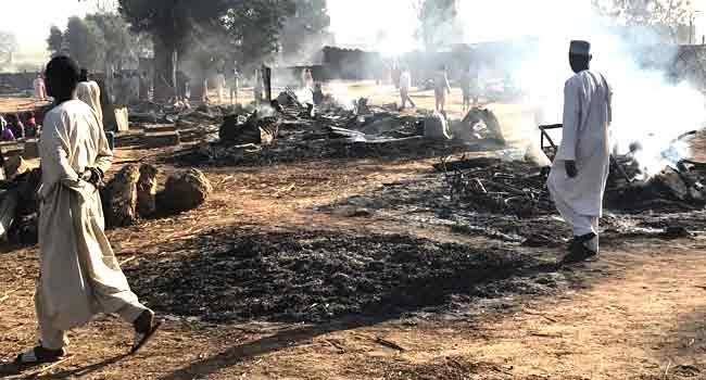 Boko Haram Terrorists Kills 69 People, Steals 1200 Livestocks, Razes Down Village In Borno State 1