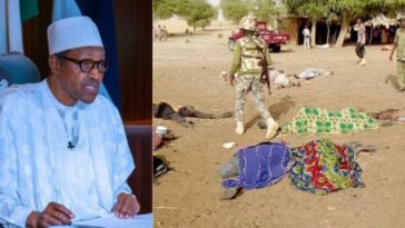 """I Am Deeply Shocked By Brutal Killing Of 81 People By Boko Haram In Borno"" - President Buhari 4"