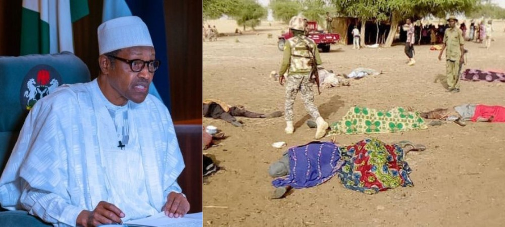 """I Am Deeply Shocked By Brutal Killing Of 81 People By Boko Haram In Borno"" - President Buhari 1"