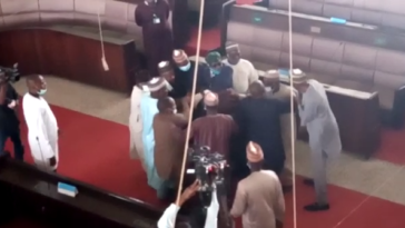 Fight In Kaduna Assembly As Lawmakers Impeaches Deputy Speaker, Swears In New One [Video] 1