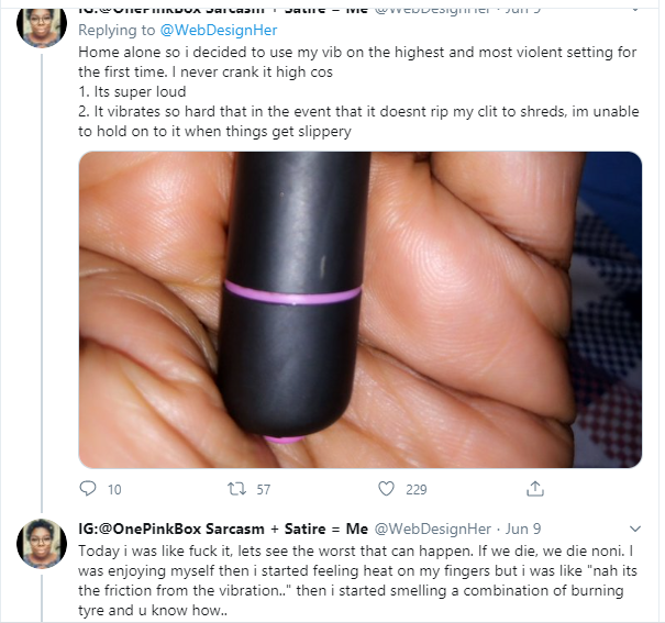 """""""My V⍺gin⍺ Almost Caught Fire"""" - Nigerian Lady Narrates Her Experience With 'China Made Vibrator' 3"""