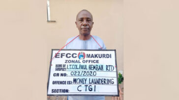 BENUE: Governor Ortom's Aide, Paul Hembah Quizzed By EFCC Over Alleged N42 Million Fraud 4