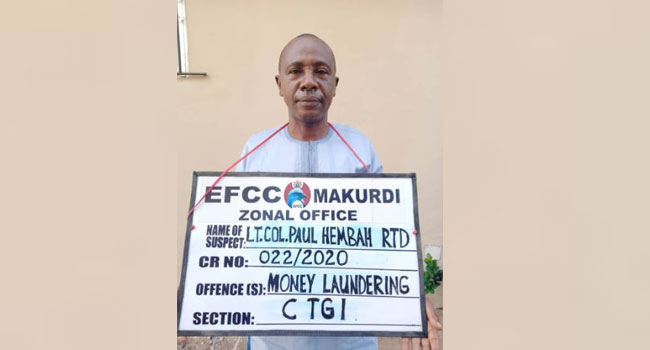 BENUE: Governor Ortom's Aide, Paul Hembah Quizzed By EFCC Over Alleged N42 Million Fraud 1