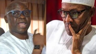 Democracy Will Only Return To Nigeria When President Buhari Leaves Office — Ayodele Fayose 1