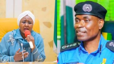 """Release My Arrested Staffs In Your Custody"" - Aisha Buhari Tells IGP Adamu 2"