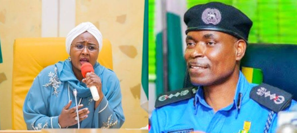 """Release My Arrested Staffs In Your Custody"" - Aisha Buhari Tells IGP Adamu 1"
