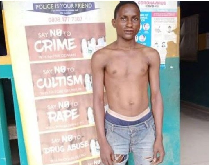 Police Arrests Man For Defiling 3-Year-Old Girl Inside His Room In Ogun State 1