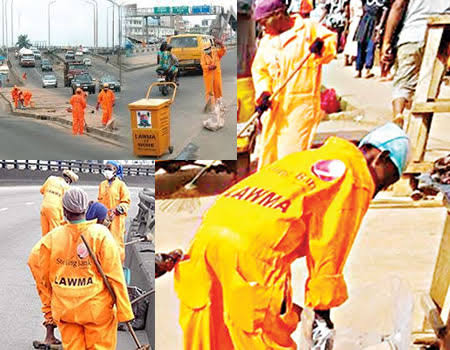 LAWMA: Lagos Sweepers Protests, Cries Out Over Non-Payment Of Three Months Salary [Video] 1