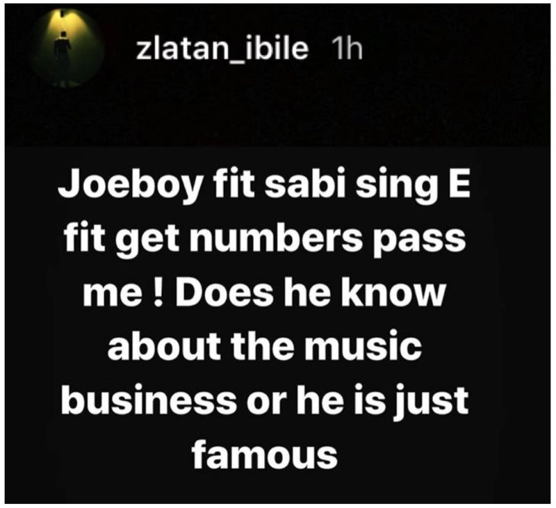 Zlatan Ibile Calls Out His Colleagues, Kizz Daniel, Joeboy And Burnaboy 4