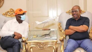 Edo Governorship: Obaseki Visits Emmanuel In Akwa Ibom, Hours After Meeting Wike In Rivers 6