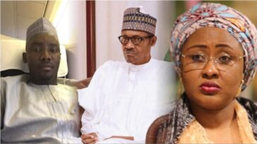 """Law Must Take Its Course"" - Buhari Probes Shooting In Aso Rock Involving His Wife And Nephew 4"
