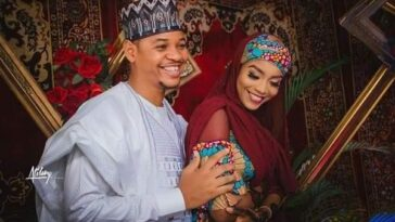 Buhari's lookalike Obinna MC Tagwaye weds Hauwa, daughter of former Chief Justice of Nigeria 1