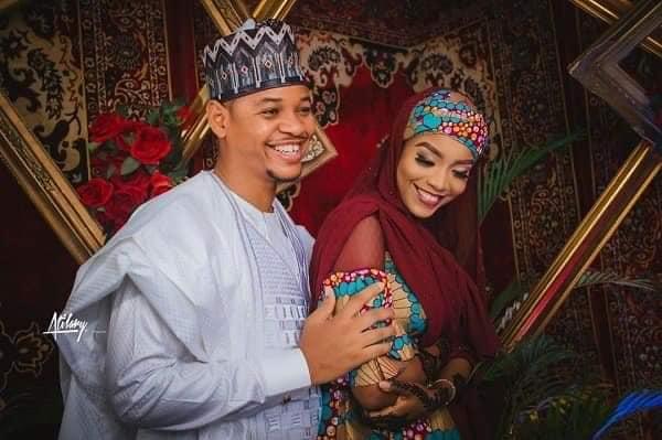 Buhari's lookalike Obinna MC Tagwaye weds Hauwa, daughter of former Chief Justice of Nigeria 1