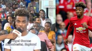 Manchester United Star, Angel Gomes Visited Prophet TB Joshua's Church For Healing [Video] 6