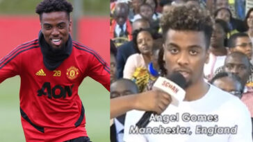 Manchester United's Angel Gomes Reveals Why He Visited Prophet TB Joshua's Church For Healing 5
