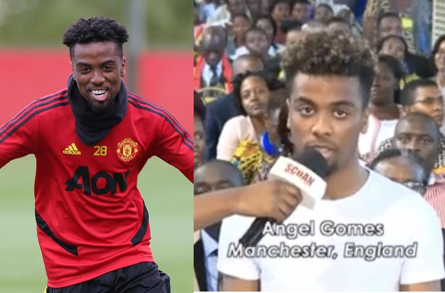 Manchester United's Angel Gomes Reveals Why He Visited Prophet TB Joshua's Church For Healing 1