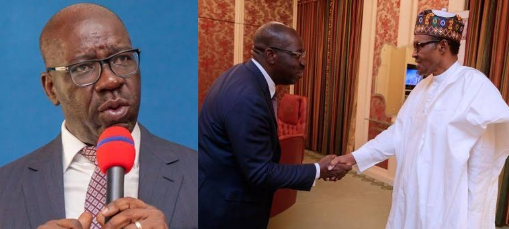 EDO: Governor Obaseki Officially Dumps APC After Meeting President Buhari In Presidential Villa 1