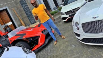 Jezco Oil Heir Jowizazaa Celebrates Dad, gifts him $400,000 Rolls Royce Cullinan [PHOTOS] 1