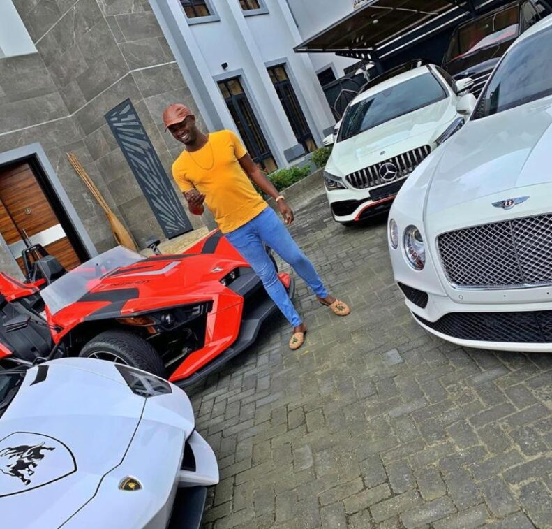 Jezco Oil Heir Jowizazaa Celebrates Dad, gifts him $400,000 Rolls Royce Cullinan [PHOTOS] 2