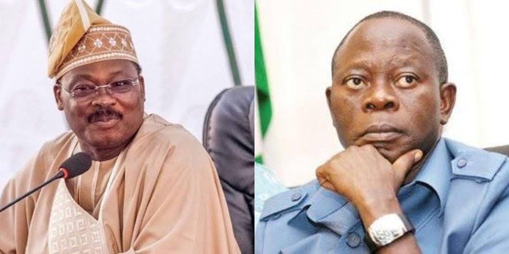 APC Appoints Ajimobi As Acting National Chairman, After Oshiomhole's Suspension By Appeal Court 1