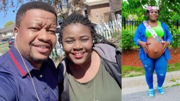 Nollywood Actor, Browny Igboegwu And Wife Welcomes Baby Girl After 10 Years Of Childlessness 6