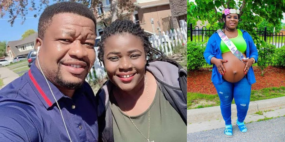 Nollywood Actor, Browny Igboegwu And Wife Welcomes Baby Girl After 10 Years Of Childlessness 1