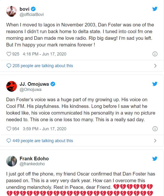 Popular Radio Host Dan Foster Dies of Coronavirus - Breaking News 3