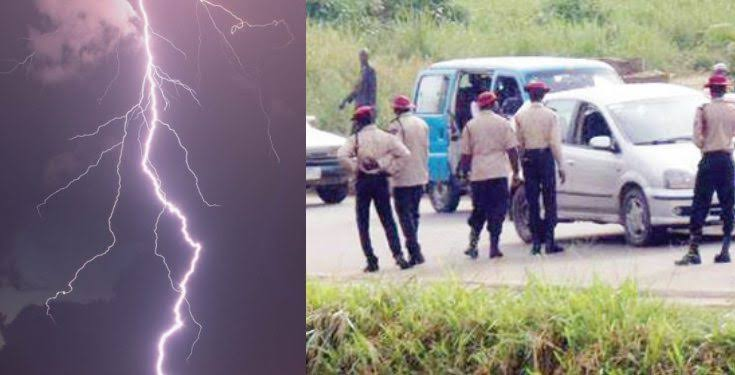 Mysterious Thunder Lightning Strikes Dead Three FRSC Officials In Ogun 1