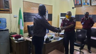 FRSC Commends Guild of Professional Bloggers of Nigeria For Donating Face Masks To The Agency 7