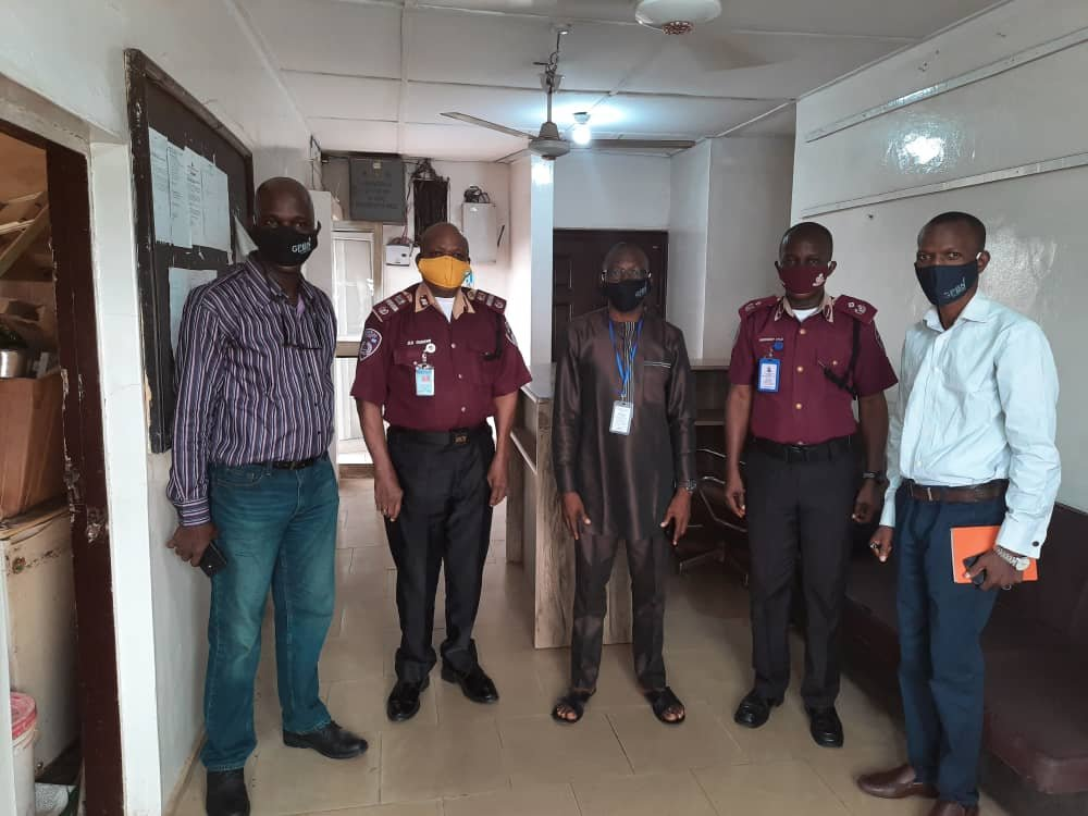 FRSC Commends Guild of Professional Bloggers of Nigeria For Donating Face Masks To The Agency 2
