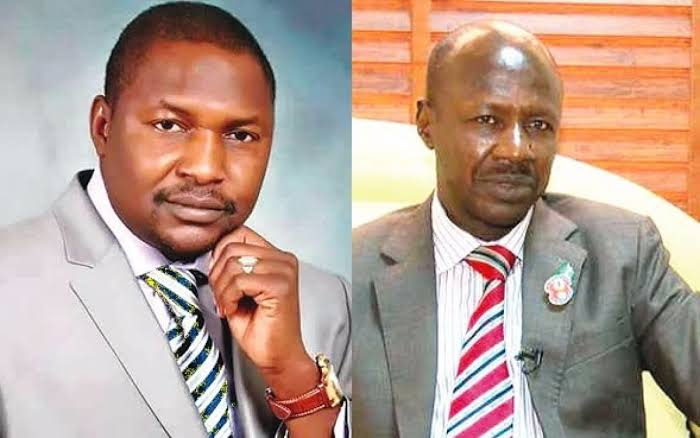 Malami Writes To Buhari, Seeks Removal Of Magu As EFCC Boss For Diverting Recovered Loots 1
