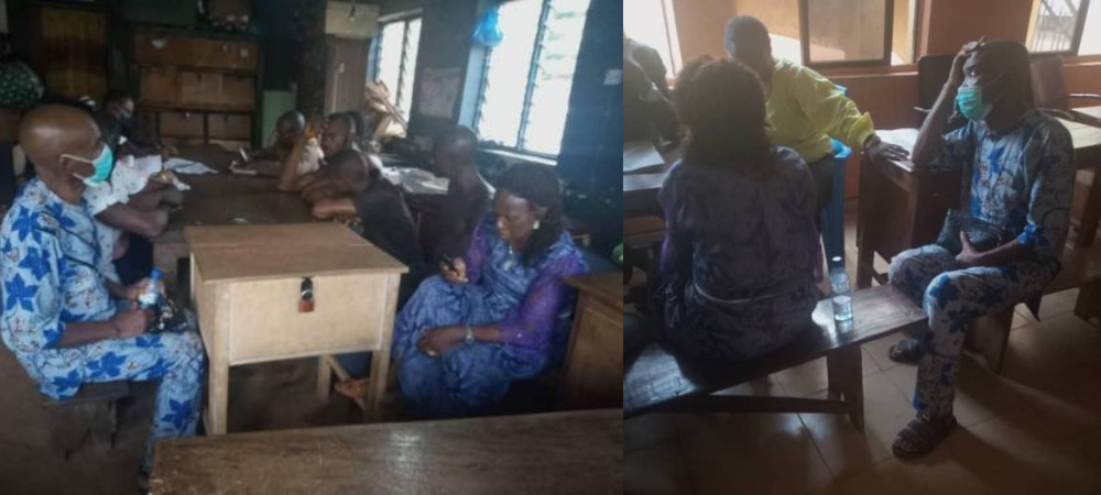 Police Demands N200,000 From Woman Whose Land Was Forcefully Taken By Ex-Senate President 1