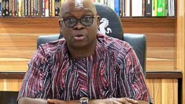 """God Is Angry With APC For Looking The Other Way While Nigerians Are Being Killed"" - Fayose 3"