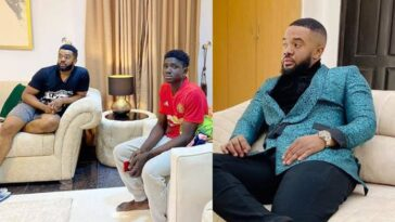 Nollywood Actor, Williams Uchemba Adopts 18-Year-Old Carpenter, Grants Him University Scholarship 4