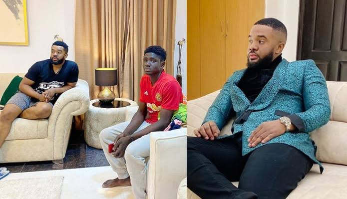 Nollywood Actor, Williams Uchemba Adopts 18-Year-Old Carpenter, Grants Him University Scholarship 1