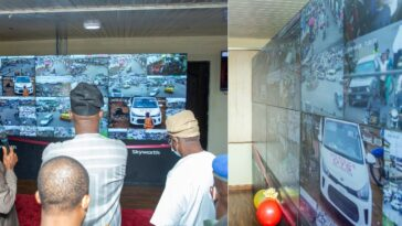Governor Makinde Extends CCTV Coverage As He Commissions Security Control Room In Oyo 9