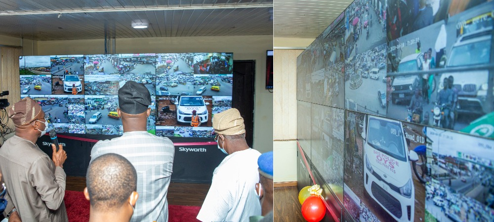 Governor Makinde Extends CCTV Coverage As He Commissions Security Control Room In Oyo 1