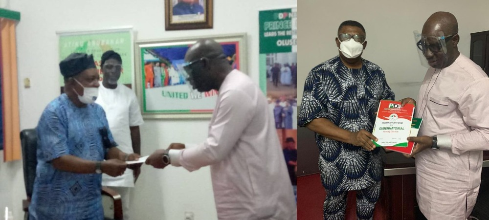 Obaseki Obtains PDP Governorship Nomination Form, Says APC Is Full Of Confusion And Commotion 1