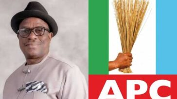 """""""I Have Been Appointed As Acting National Chairman Of APC"""" - Victor Giadom Says In Letter To INEC 9"""