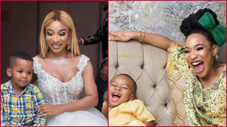 """Being Your Dad Has Been Great A Honour"" – Tonto Dikeh Tells Her Son Andre On Father's Day 1"