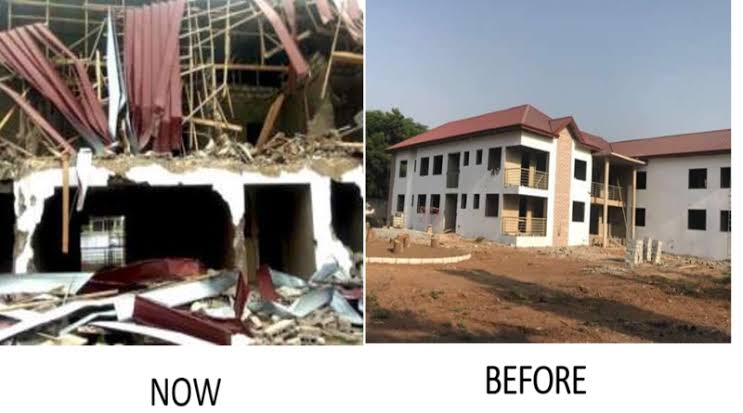 Nigerian Government Demands Urgent Action From Ghana Over Demolition Of High Commission 1