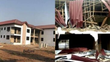Armed Men Breaks Into Nigerian High Commission In Ghana, Demolishes Staff Quarters [Video] 2