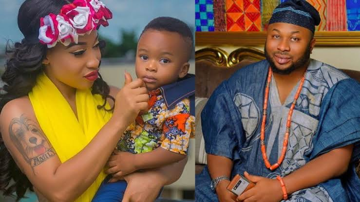 """May Your Child Not Be Used As Tool Of Jealousy"" - Tonto Dikeh's Ex-hubby, Churchill Prays For Fathers 1"