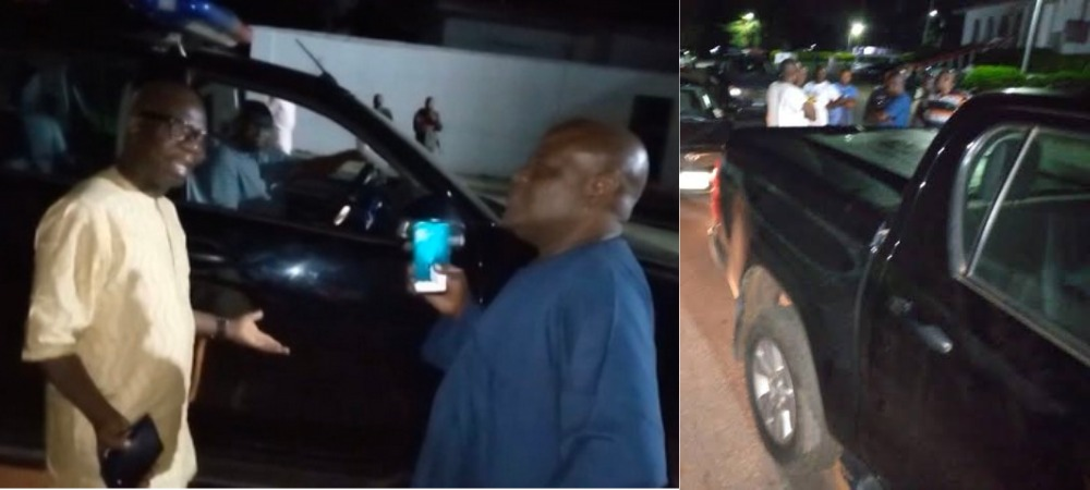 Drama As Ondo Governor Orders Police To Stop His Deputy From Leaving Government House [Video] 1